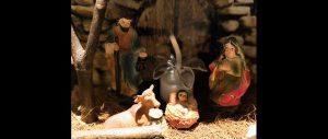 Christmas story crib